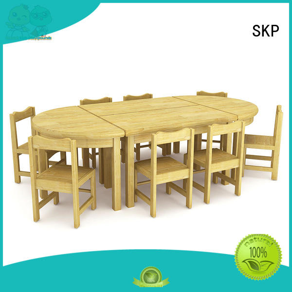 SKP role childrens wooden table and chairs high quality for nursery