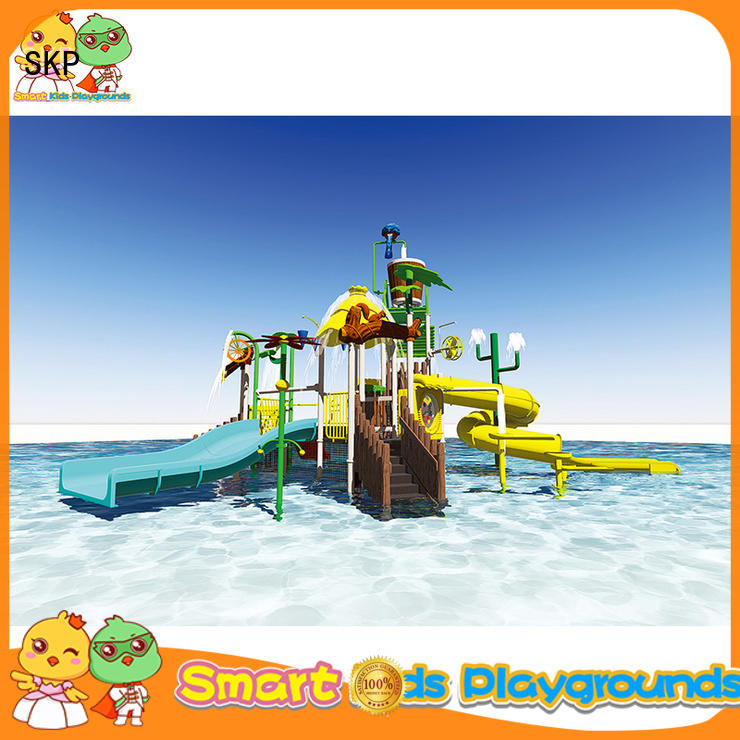colorful water park playground equipment high quality for plaza