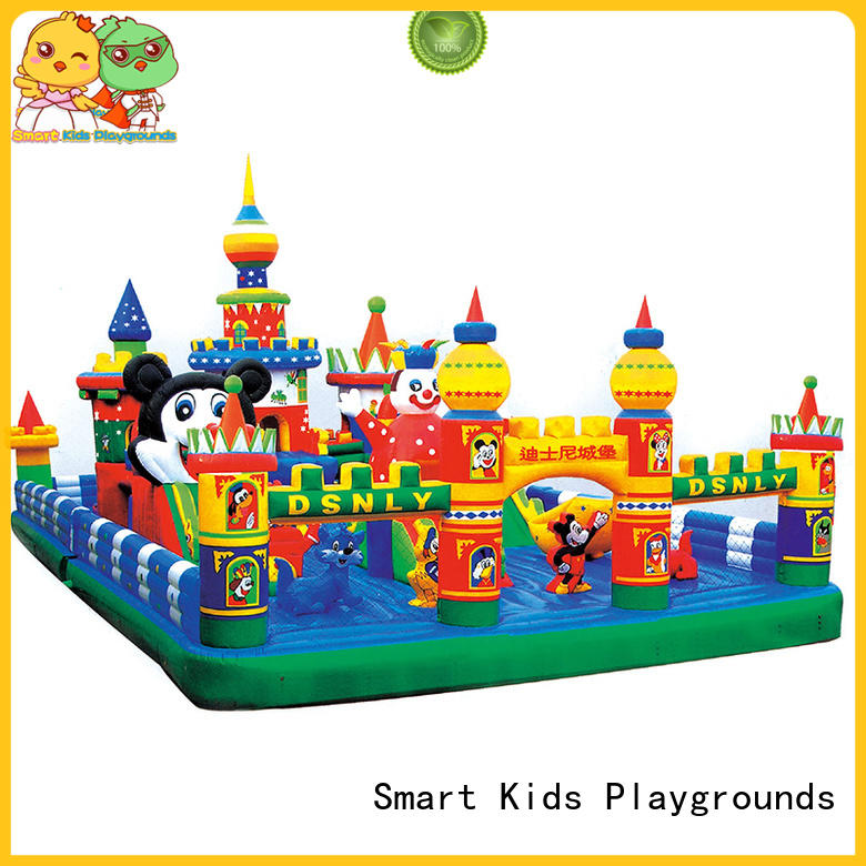 Smart Kids Playgrounds Brand smart castle playground children inflatable toys