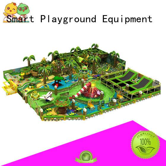 kids safety OEM jungle theme playground Smart Kids Playgrounds