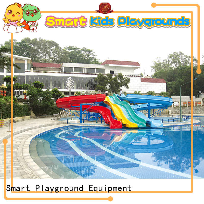 Smart Kids Playgrounds aqua water slides simple assembly for play centre