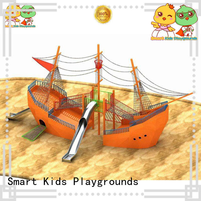 Smart Kids Playgrounds stable toy slide outdoor for pre-school