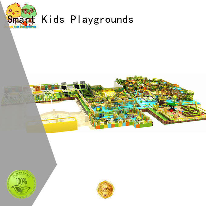 indoor jungle gym kids for shopping mall Smart Kids Playgrounds
