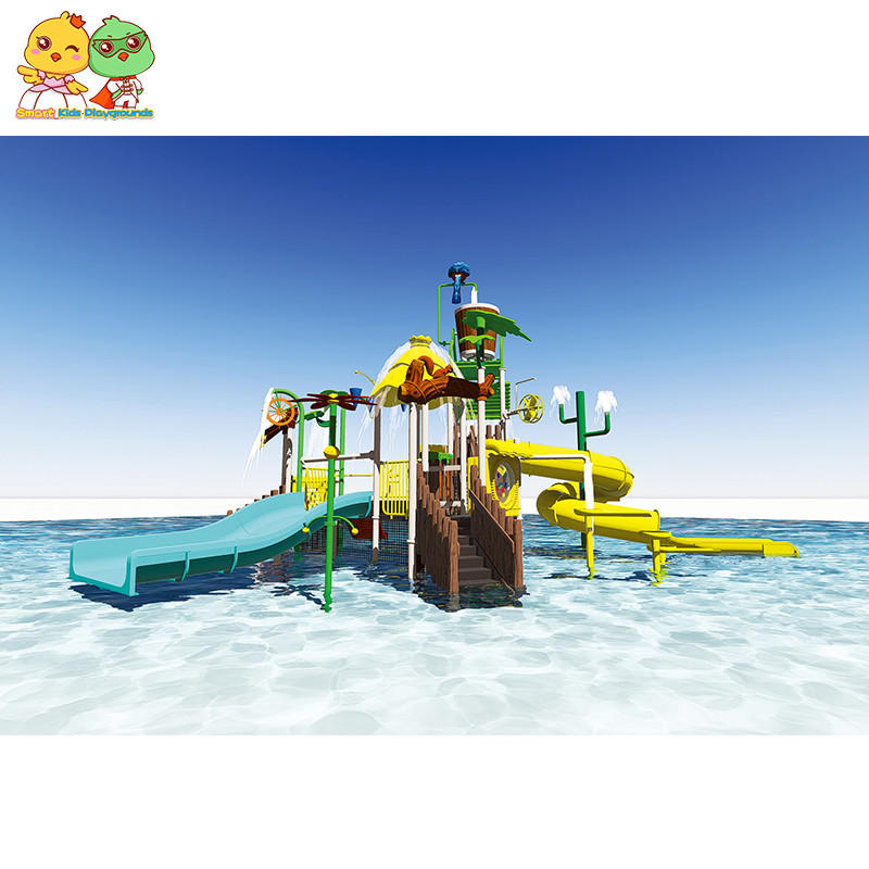 Children water park equipment play slide for sale SKP-1811023-1