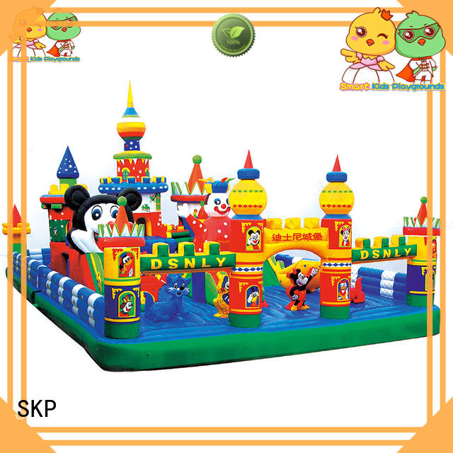 SKP healthy inflatable toys puzzle game for amusement park