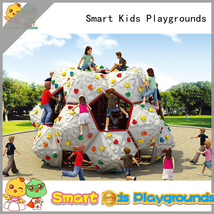 galvanize-plated wall kids climbing Smart Kids Playgrounds Brand