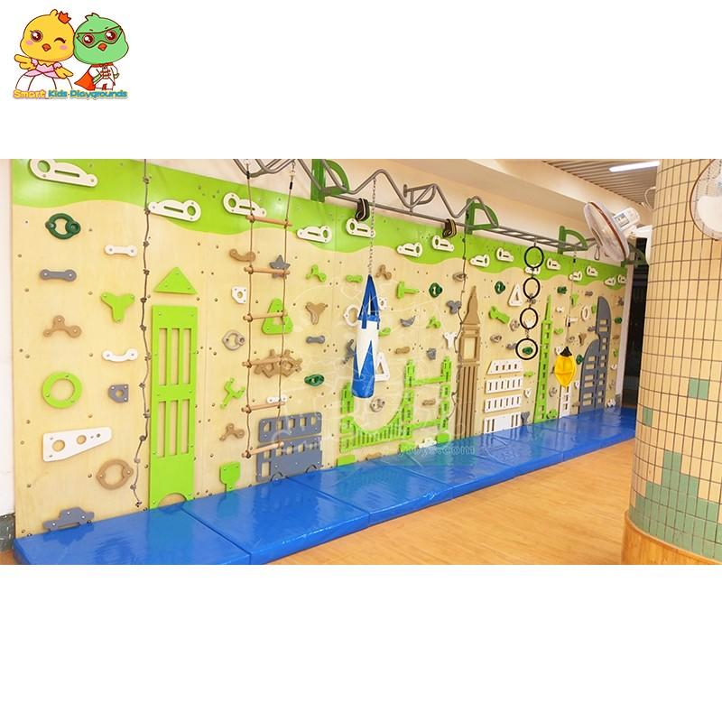 SKP high quality climbing wall on sale for fairground-3