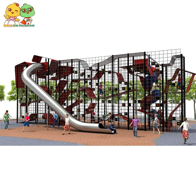 SKP systems wooden slide wholesale for kindergarten-2