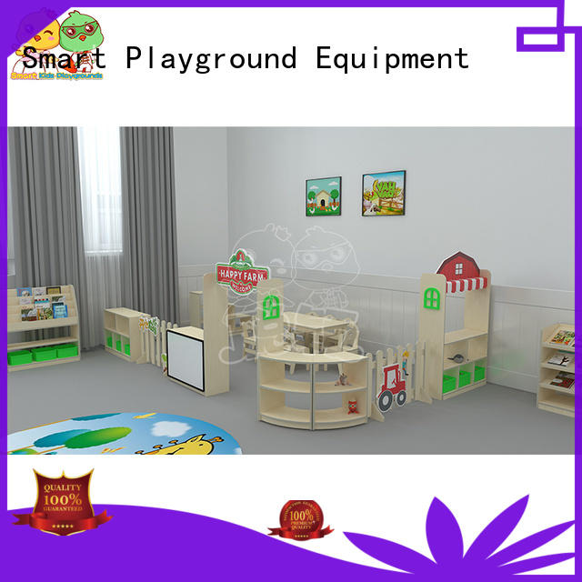 durable childrens wooden table and chairs role promotion for nursery