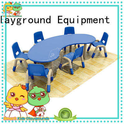 security childrens wooden table and chairs table special design for Kids care center