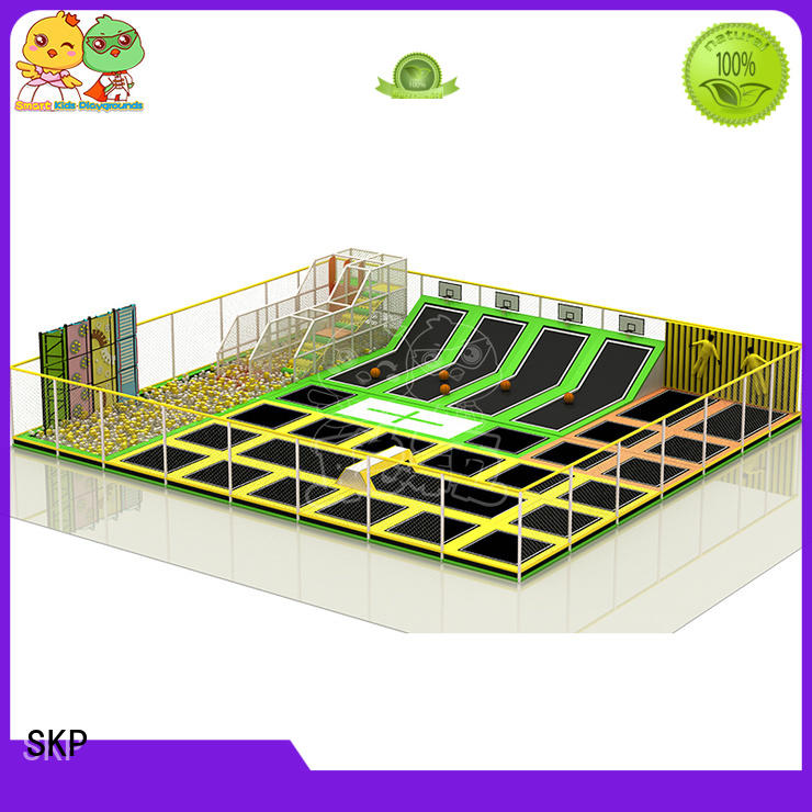 SKP stable trampoline park equipment high quality for school