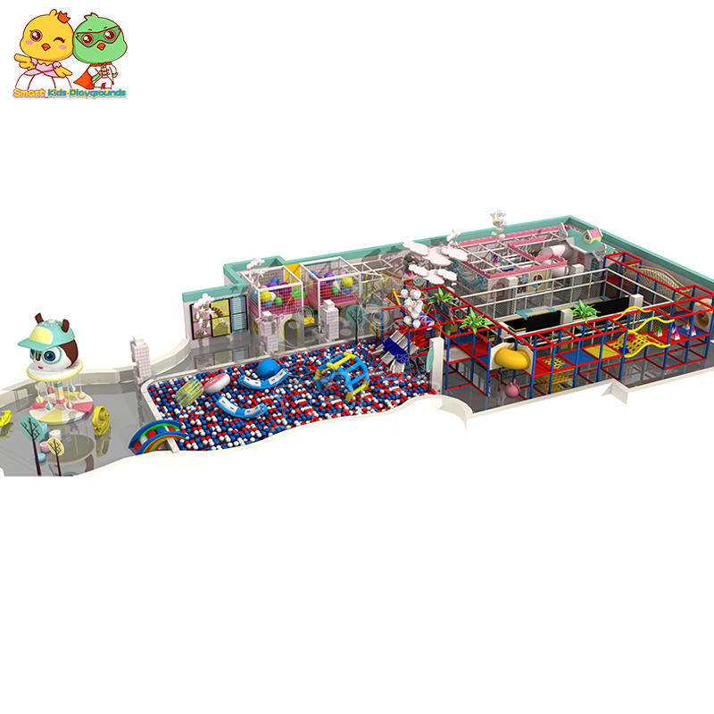 Kids indoor playground maze equipment unique design shopping mall SKP-1907112