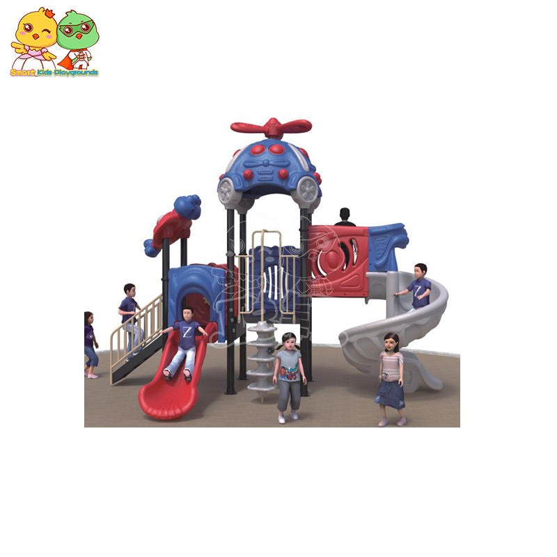 Children slide Outdoor Training Equipment Park Supplier SKP
