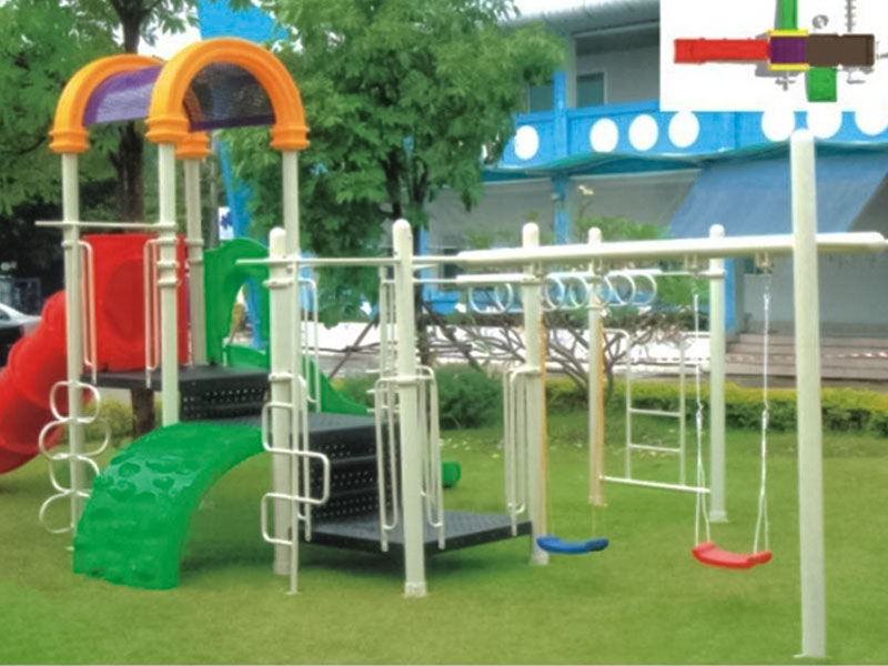 SKP metal kids slide wholesale for supermarket-5