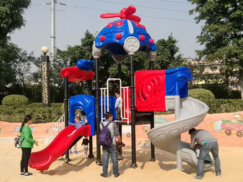 SKP standard kids fitness equipment safety for residential park-18