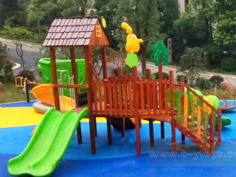 SKP kids tube slide for kindergarten-8