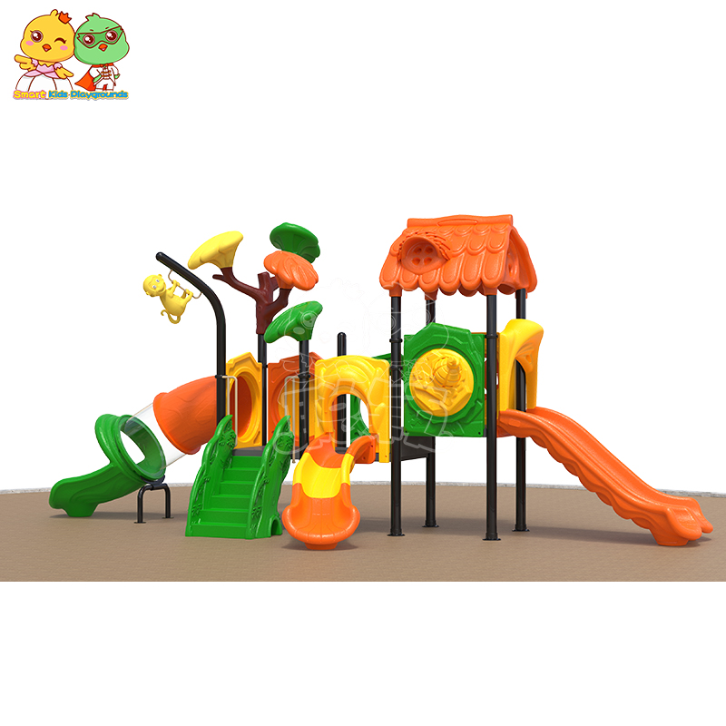 SKP high quality plastic slide factory for residential area-1