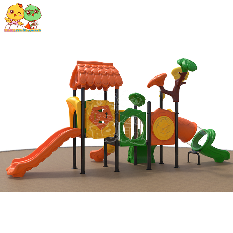 SKP high quality plastic slide factory for residential area-2