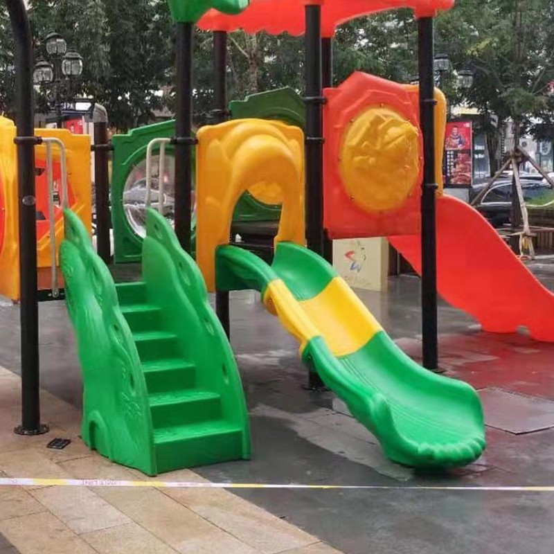 safe kids slide amusement factory for swimming pool-8