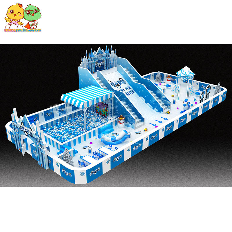 snow theme playground safety indoor equipment SKP