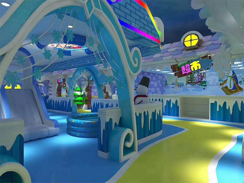 SKP Christmas theme playground high quality for indoor play area-9