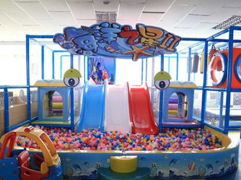 SKP amusement space theme playground factory price for plaza-11