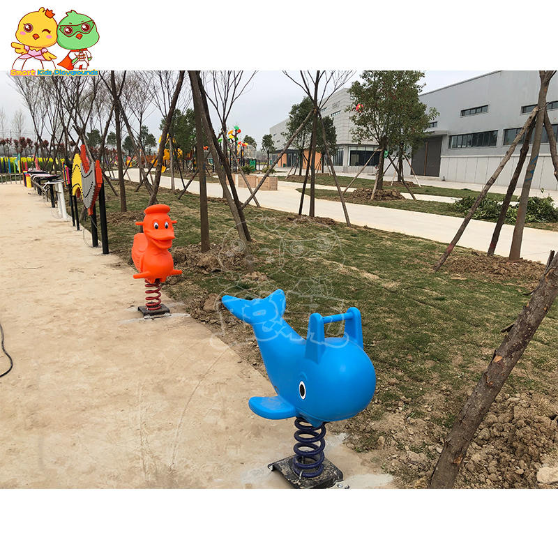 Outdoor plastic stainless steel climbing slide swing combination SKP