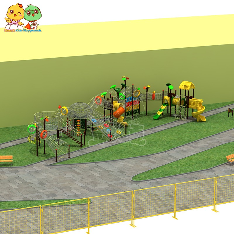 SKP safe plastic slide wholesale for residential area-1