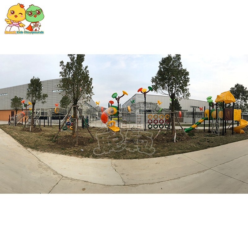 SKP safe plastic slide wholesale for residential area-3