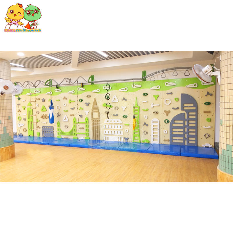 Children's Climbing Wall PE Board Stainless Steel SKP