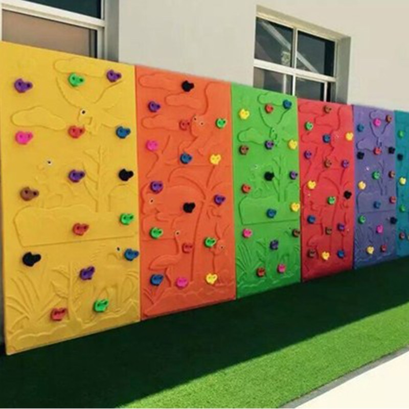 SKP high quality climbing wall on sale for fairground-13