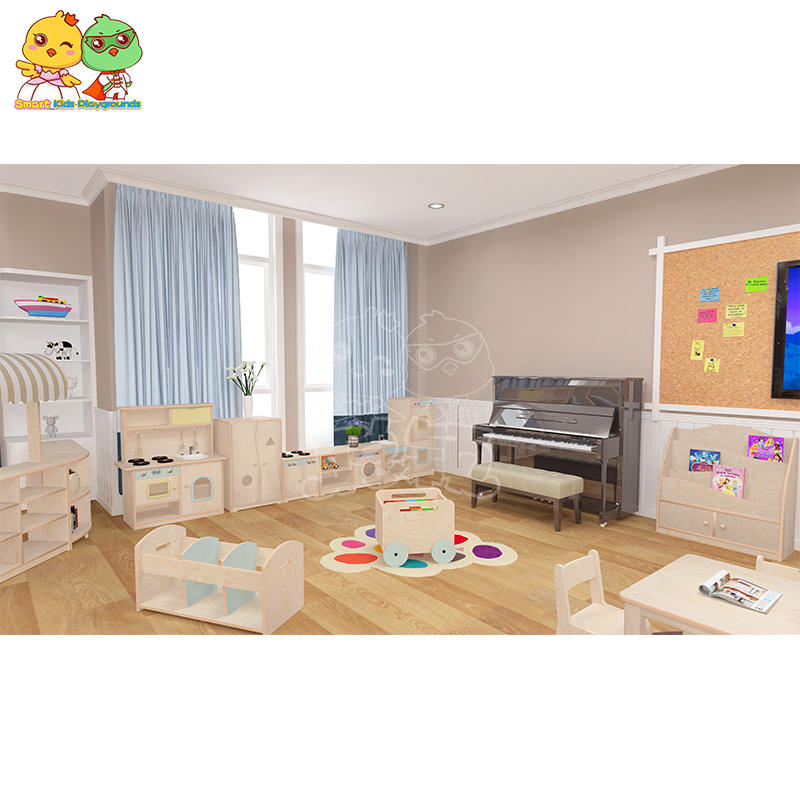 Multilayer Board Kindergarten Furniture Simulation Appliances SKP