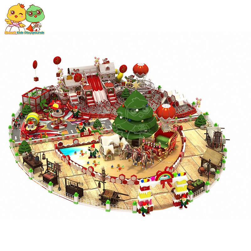 SKP popular Christmas theme playground on sale for shopping centre-3