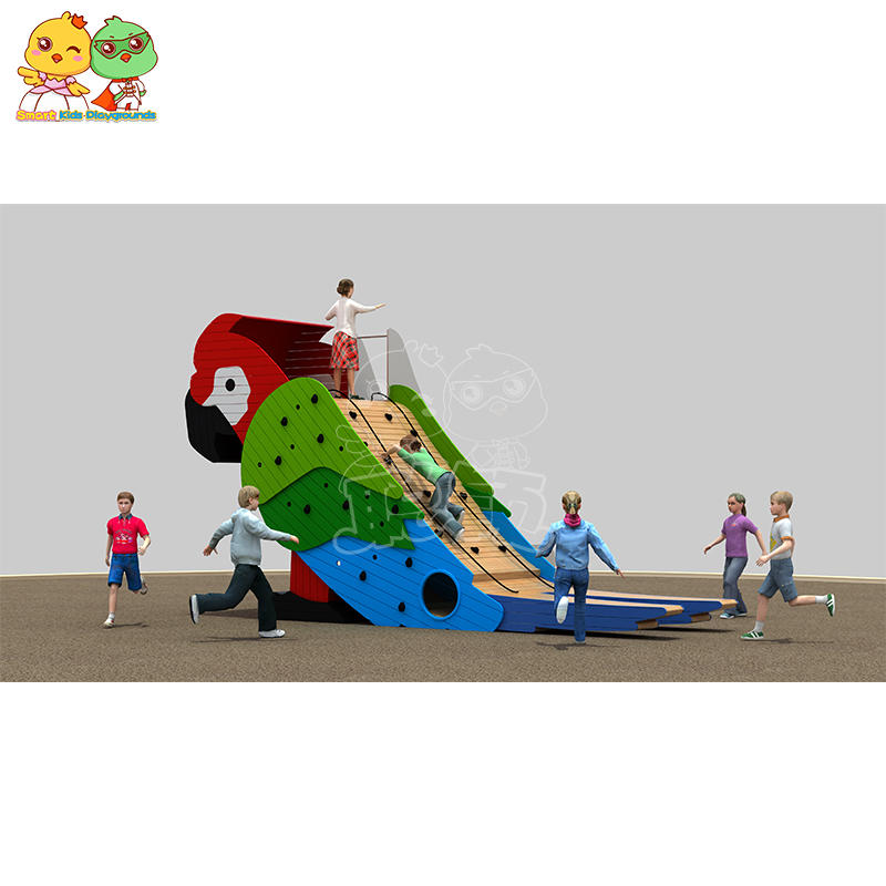 Wooden Slide Outdoor Animal Model Slide SKP