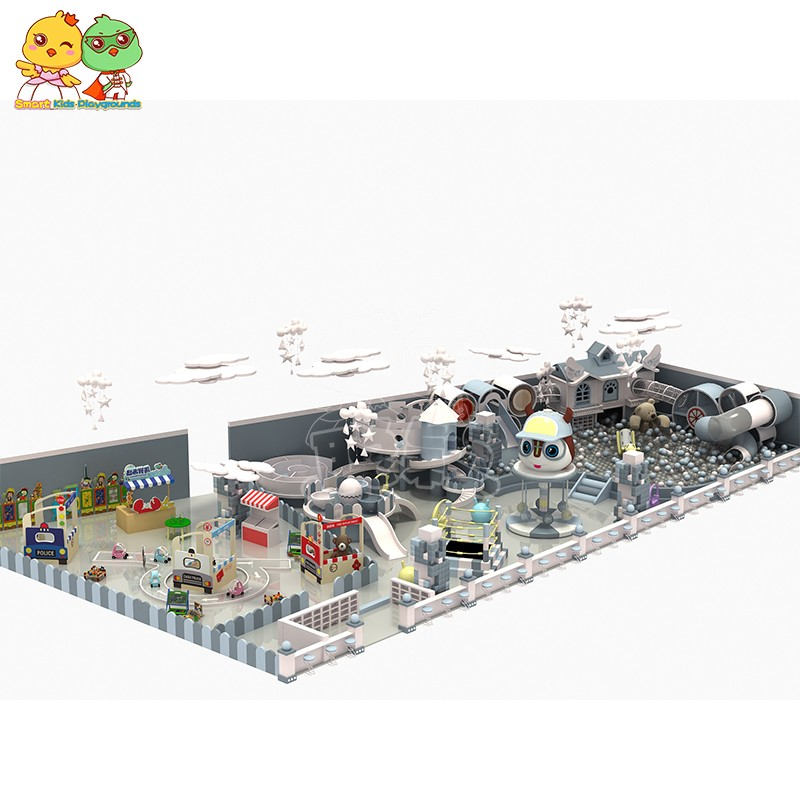 SKP safe childrens jungle gym puzzle game for shopping mall-2