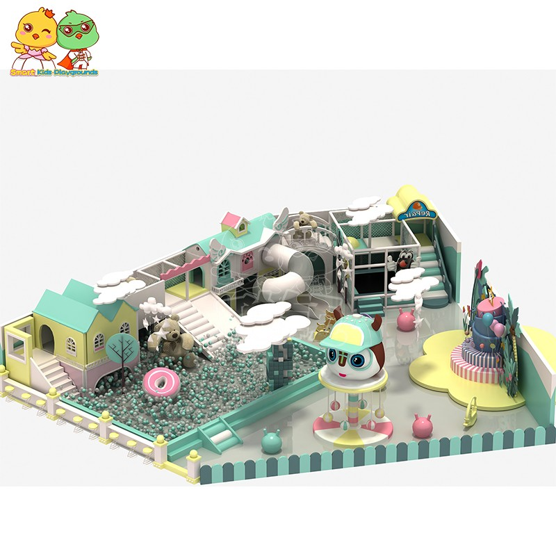 SKP indoor maze equipment factory price for Kindergarden-3