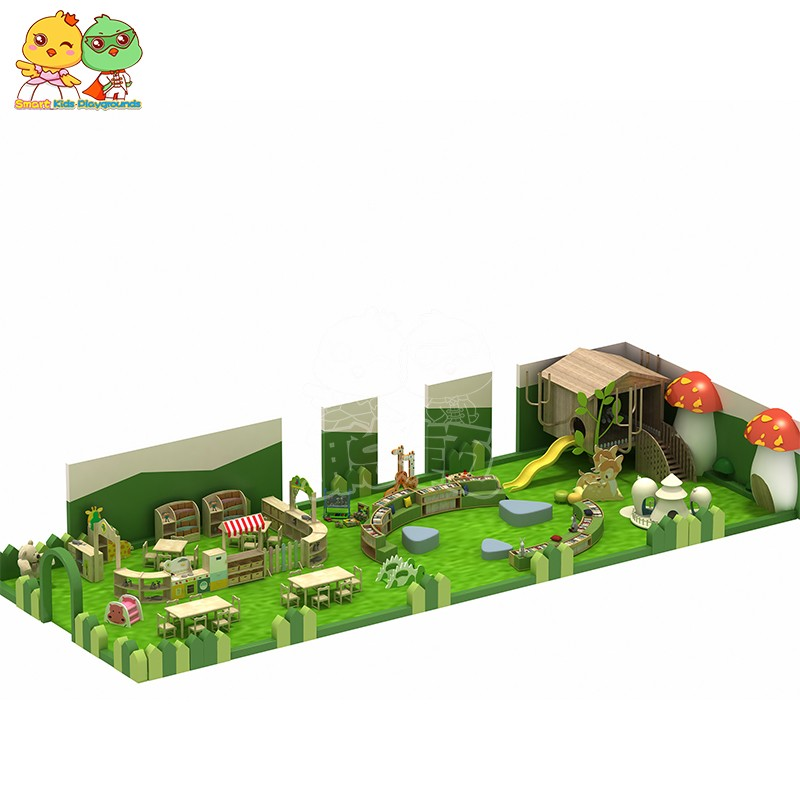 high quality jungle gym playground park factory price for shopping centre-4