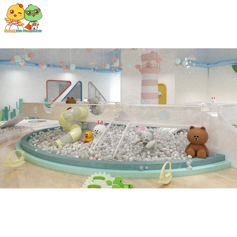 high quality jungle gym playground park factory price for shopping centre-5