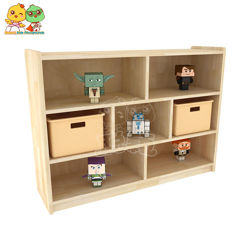 Oak Children's Lockers Multi-compartment Lockers for Kindergarten SKP