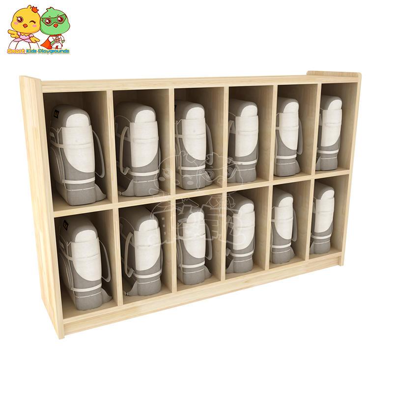 Oak Children's Lockers Multi-compartment Lockers for Kindergarten SKP