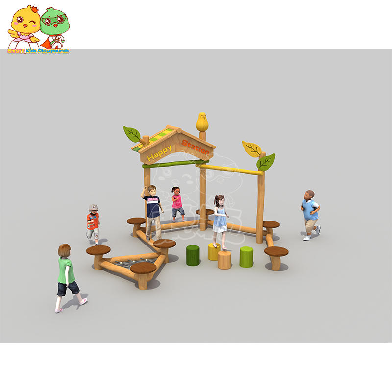 Locust Wooden Robinia Children's Outdoor Physical Development SKP