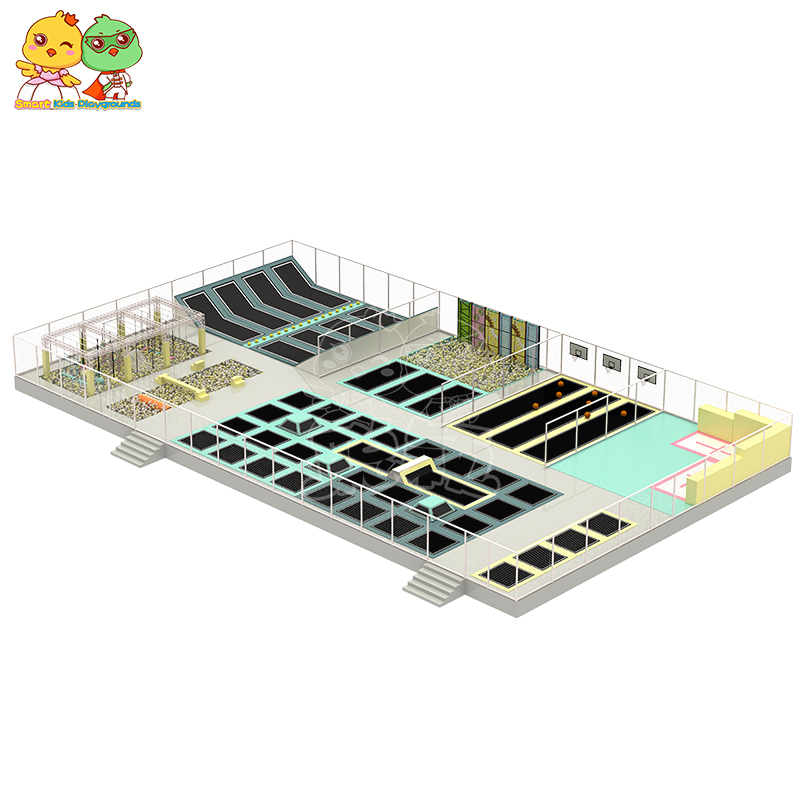 SKP big trampoline park equipment supplier for Kindergarten-2