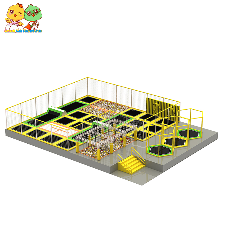 security trampoline park equipment sale on sale for amusement park-9