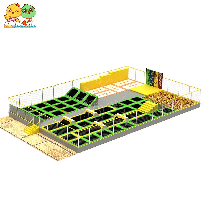 security trampoline park equipment sale on sale for amusement park-10