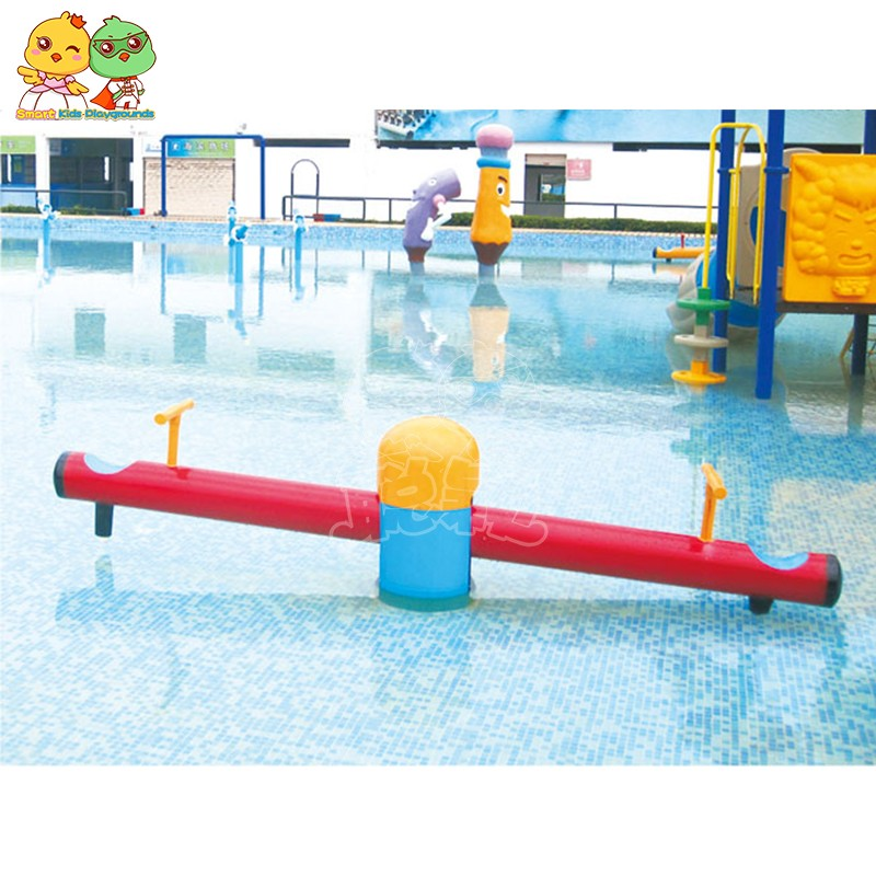 SKP play water slides simple assembly for play centre-8