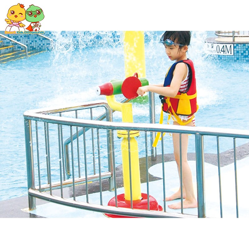SKP play water slides simple assembly for play centre-12