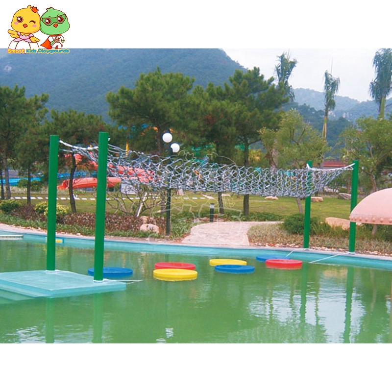 SKP play water slides simple assembly for play centre-13