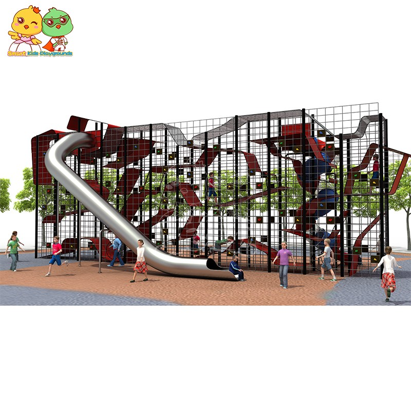SKP stable kids slide for supermarket-2