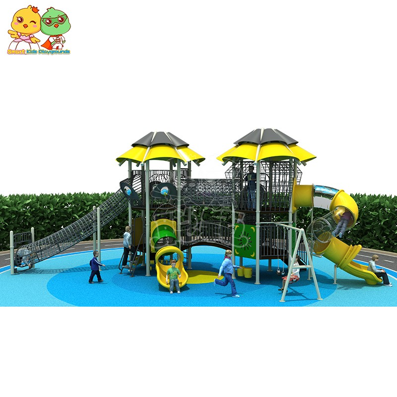 SKP systems wooden slide wholesale for kindergarten-4