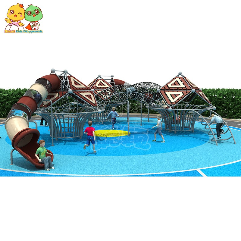 SKP stable kids slide for supermarket-9